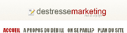 Blog de Destresse Marketing