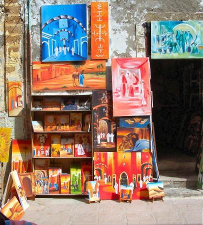 boutique tableaux essaouira
