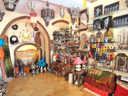 magasin d'artisanat