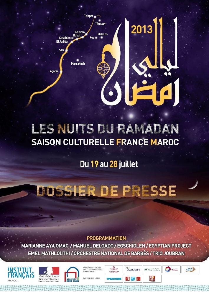 programme_nuits du ramadan_Maroc 2013