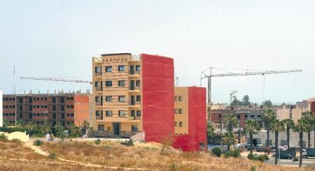 Nouvelles constructions à El Jadida